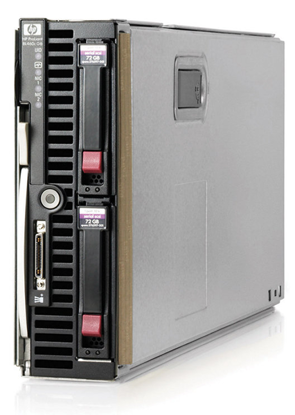 Picture of HP Proliant BL460c G6 CTO Blade Server 507864-B21