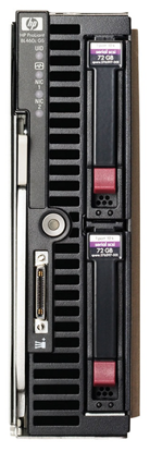 Picture of HP Proliant BL460c G5 CTO Blade Server 501715-B21
