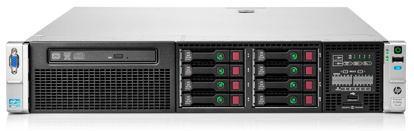Picture of HPE Proliant DL380p Gen8 V2 SFF CTO Rack Server 653200-B21