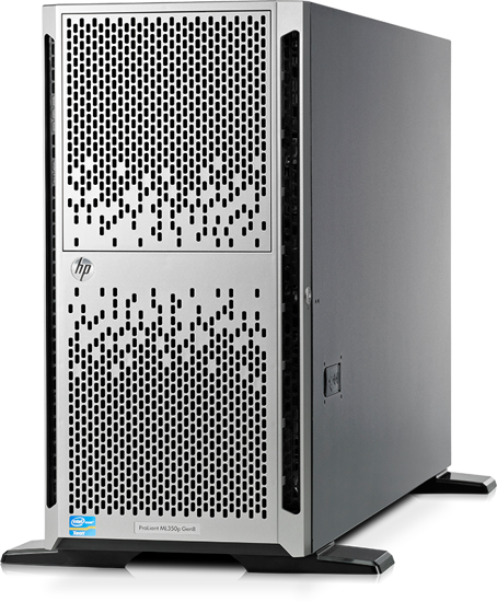 Picture of HPE Proliant ML350p Gen8 V2 CTO LFF Tower Server 652066-B21