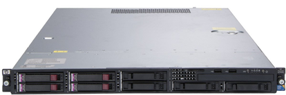 Picture of HP Proliant DL160 G6 SE316M1 SFF Rack Server 593352-B21