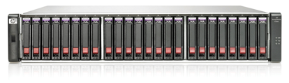 Picture of HP P2000 G3 SAS iSCSI Fibre Channel SFF Modular Smart Array AP839A AP839B 582939-001