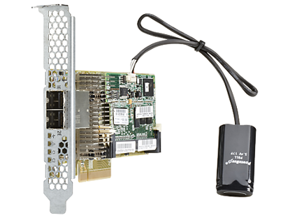 Picture of HP Smart Array P431/2GB FBWC 1Gb 2-ports Ext SAS Controller 698531-B21 729636-001