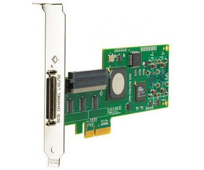 Picture of HP SC11Xe Ultra320 Single Channel/ PCIe x4 SCSI Host Bus Adapter 412911-B21 439946-001