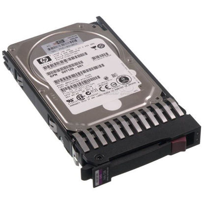 "Picture of HP 146GB 6G SAS 10K 2.5"" Dual Port Hard Drive 507125-B21 507283-001"