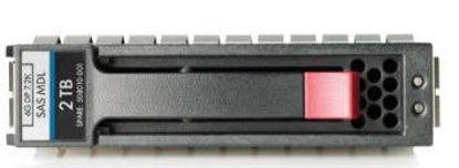 Picture of HP 2TB 6G SAS 7.2K rpm LFF (3.5-inch) Dual Port Hot Plug Hard Drive 507616-B21 508010-001