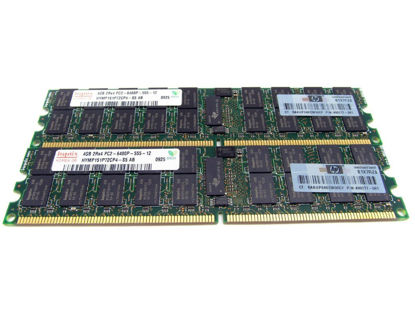 Picture of HP 8GB (2x4GB) Dual Rank PC2-6400 (DDR2-800) Registered Memory Kit 497767-B21 501158-001