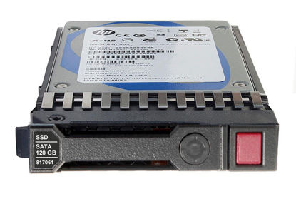 Picture of HP 120GB 6G SATA Read Intensive-3 SFF 2.5-in SC Solid State Drive 816879-B21 817061-001