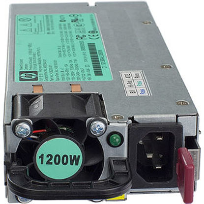 Picture of HP 1200W Common Slot Silver Hot Plug Power Supply Kit 500172-B21 498152-001