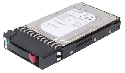 Picture of HP P2000 1TB 6G SAS 7.2K rpm LFF (3.5-inch) Dual Port MDL Hard Drive AP861A 605474-001