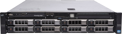 Picture of Dell PowerEdge R520 8LFF Hotplug CTO 2U Rack Server KCHY4 9JFWW