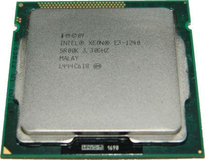 Picture of Intel Xeon E3-1240 (3.30Ghz/4-Core/8MB/80W) Processor Kit - SR00K