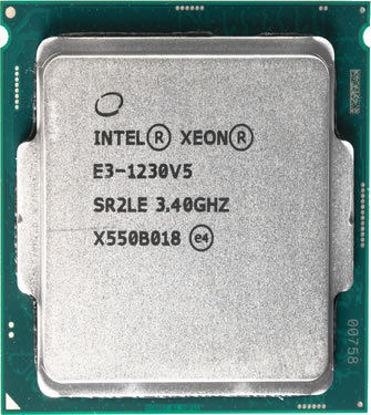 Picture of Intel Xeon E3-1230v5 (3.40Ghz/4-Cores/8MB/80W) Processor SR2LE
