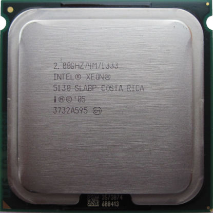 Picture of Intel Xeon Dual-Core 5130 (2.00 GHz 1333 MHz FSB) - SLABP