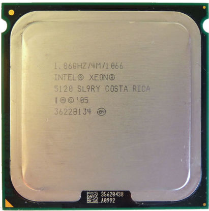 Picture of Intel Xeon Dual-Core 5120 (1.86 GHz 1066 MHz FSB) - SL9RY