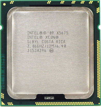 Picture of Intel Xeon X5675 (3.06GHz/6-core/12MB/95W) Processor SLBYL