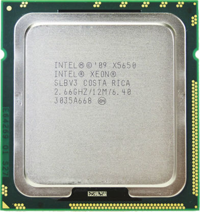 Picture of Intel Xeon X5650 (2.66GHz/6-core/12MB/95W) Processor Kit - SLBV3