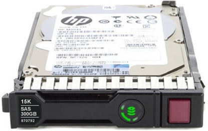 Picture of HPE 300GB SAS 12G Enterprise 15K SFF (2.5in) SC Digitally Signed Firmware HDD 870753-B21 870792-001