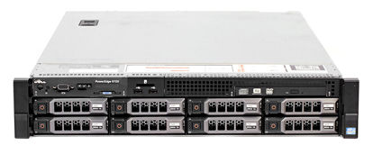 Picture of Dell PowerEdge R720 V2 8LFF Hotplug CTO 2U Rack Server 7KF7P KKNY9