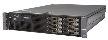 Picture of Dell PowerEdge R710 8SFF Hotplug CTO 2U Rack Server 33P6Y XT251