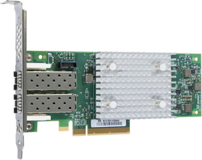 Picture of HPE StoreFabric SN1100Q 16Gb Dual Port Fibre Channel Host Bus Adapter P9D94A 853011-001