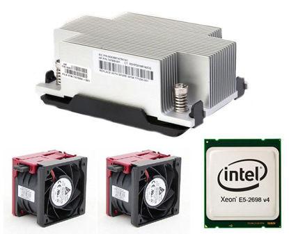 Picture of HPE DL380 Gen9 Intel Xeon E5-2698v4 (2.2GHz/20-core/50MB/135W) Processor Kit 817965-B21 828054-001
