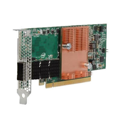 Picture of HPE 100Gb 1-port OP101 QSFP28 x16 PCIe Gen3 with Intel Omni-Path Architecture Adapter 829335-B21 841703-001