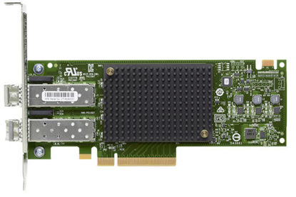 Picture of HPE StoreFabric SN1600E 32Gb Dual Port Fibre Channel Host Bus Adapter Q0L12A 870000-001