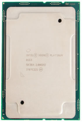 Picture of Intel Xeon-Platinum 8153 (2.0GHz/16-core/125W) Processor SR3BA