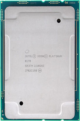 Picture of Intel Xeon-Platinum 8170 (2.1GHz/26-core/165W) Processor SR37H