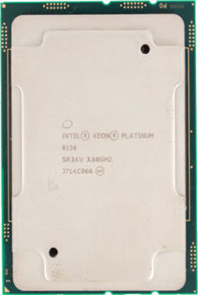Picture of Intel Xeon-Platinum 8156 (3.6GHz/4-core/105W) Processor SR3AV