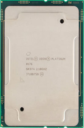 Picture of Intel Xeon-Platinum 8176 (2.1GHz/28-core/165W) Processor SR37A