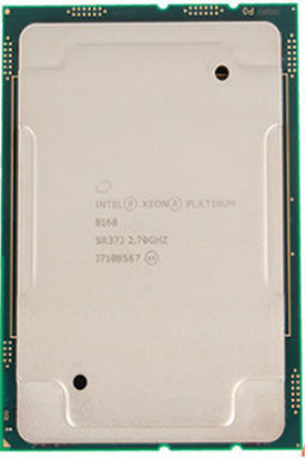Picture of Intel Xeon-Platinum 8168 (2.7GHz/24-core/205W) Processor - SR37J