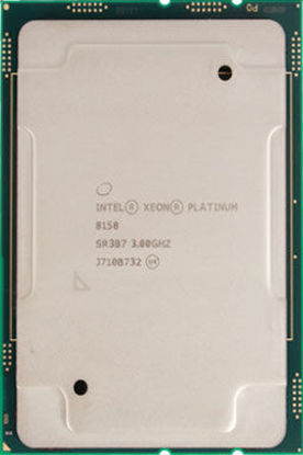 Picture of Intel Xeon-Platinum 8158 (3.0GHz/12-core/150W) Processor SR3B7