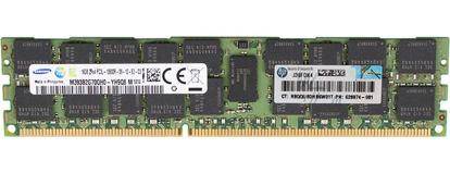 Picture of HP 16GB (1x16GB) Dual Rank x4 PC3L-10600 LP Memory Module 627812-B21 632204-001