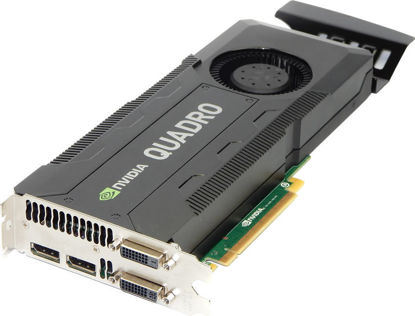 Picture of Nvidia Quadro K5000 4GB Graphics Card C2J95AA
