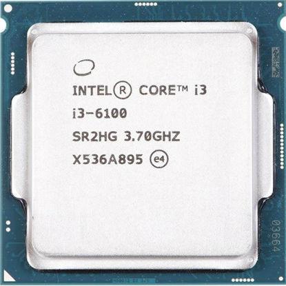 Picture of Intel Core i3-6100 (3.70GHz/2-Core/3MB/51W) Processor SR2HG