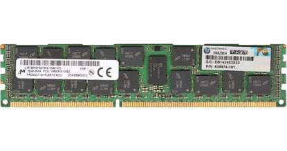 Picture of HP 16GB (1x16GB) Dual Rank x4 PC3L-10600 (DDR3-1333) Registered CAS-9 LP Memory Kit 627808-B21 632202-001
