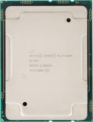 Picture of Intel Xeon-Platinum 8176M (2.1GHz/28-core/165W) Processor SR37U