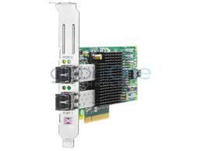 Picture of HPE 82E 8Gb 2-port PCIe Fibre Channel Host Bus Adapter AJ763B 697890-001