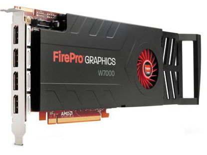 Picture of AMD FirePro W7000 PCIe 4GB Graphics Card 100-505634