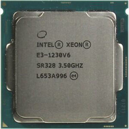 Picture of Intel Xeon E3-1230 V6 (3.50GHz/8MB/72W) Processor Kit SR328