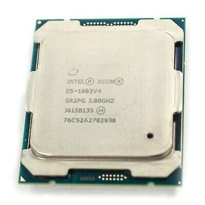 Picture of Intel Xeon E5-1603 (2.80 GHz/4-core/10M/130W) Processor Kit SR0L9