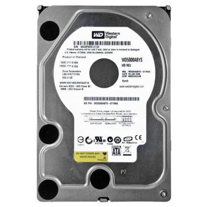 "Picture of 500GB 7.2K 3GB/s 3.5"" SATA Hard Drive WD5000ABYS"