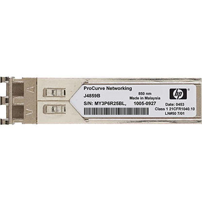 Picture of HP X121 1G Small Form-Factor Pluggable SFP LC LX Transceiver Module J4859C J4859-69301