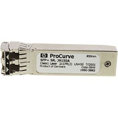Picture of HPE X132 10GB Small Form-Factor Pluggable SFP+ LC SR Transceiver Module J9150A J9150-69101