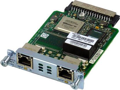 Picture of Cisco 2-Port T1/E1 Voice / WAN w/ Drop & Insert 2MFT VWIC3-2MFT-T1/E1