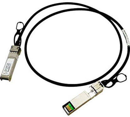 Picture of HPE FlexNetwork X240 10G SFP+ to SFP+ 1.2m Direct Attach Copper Cable JD096C JD096-61201