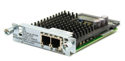 Picture of Cisco 2-Port FXS and DID voice/fax Interface Card VIC3-2FXS/DID
