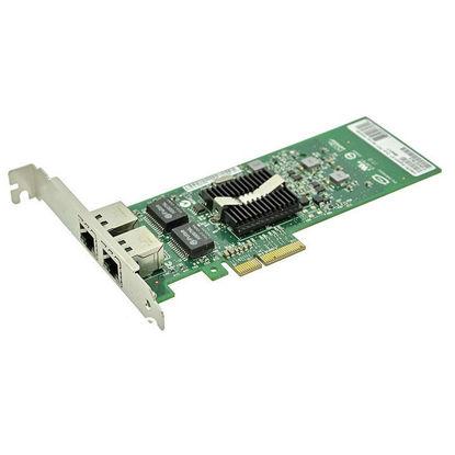 Picture of Dell Intel E1G42ET Dual Port 1Gbit RJ45 Ethernet PCIe Card 1P8D1
